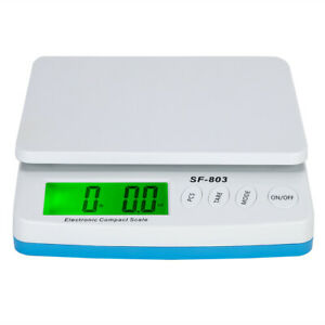 66 Lb X 0 1oz Digital Postal Shipping Scale Backlit Lcd Package Weigh Adapter