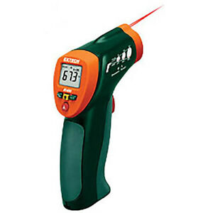 Extech Ir400 nist Mini Infrared Thermometer 4 To 630f 8 1 With Nist