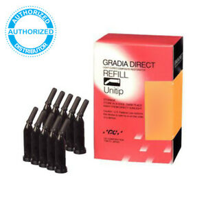Gc Gradia Direct Light cured Composite Resin Unitip 0 16ml Different Shades