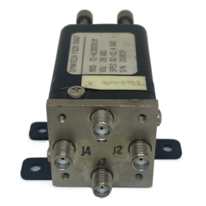 Coaxial Switch 28v Sma f Dpdt 12 4ghz T2 413d201lm Dynatech Auto Manual
