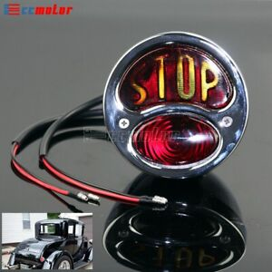 Motorcycle Stop Vintage Tail Brake Stop Light For Ford Model A Taillight 28 31