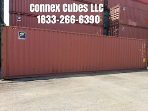 Used 40 High Cube Shipping Container Tallahassee Florida