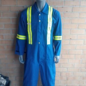 North Safety Protective Reflective Coveralls Overalls 44