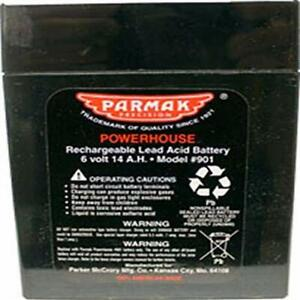 Parmak 901 6 volt Gel Cell Battery For Solar Powered Electric Fences