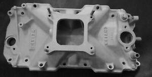 Weiand 7509 Bbc 454 402 396 Aluminum Intake Manifold Oval Port Chevy Vintage 427