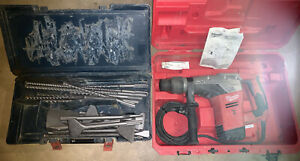 Milwaukee 1 9 16 Sds Max Rotary Hammer 5317 21 W Case Drill Bits Chisels