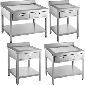 Vevor Commercial Food Prep Table Stainless Steel Cater Table Bench Worktop Home