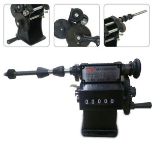Coil Counting Winding Machine Cast Iron Frame Steel Gear Manual 1 8