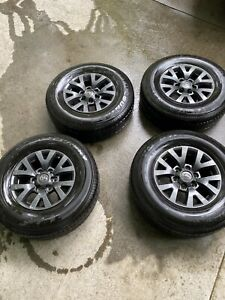 16 Black Tacoma 4runner Tundra Oem Stock Wheels And Tires New With Tpms Sens