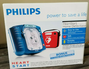 Philips Heartstart Home Defibrillator Aed m5068a W Carry Case