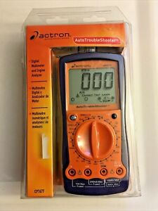 Actron Cp7677 Auto Trouble Shooter Digital Multimeter And Engine Analyzer New