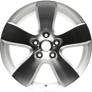 20 Polished And Silver Alloy Wheel 2009 2012 Ram 1500 2363