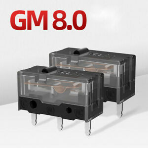 2 Pack Kailh Gm 8 0 Black Micro Switch For Gaming Mouse Button 80 Million Clicks