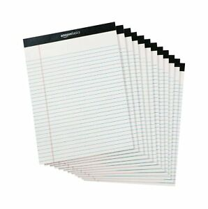 Legal Wide Ruled 8 1 2 By 11 3 4 50 Sheet Paper Pads 12 Pack