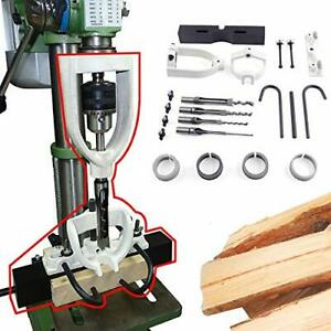 Ranbb Bench Drill Locator Set For Mortising Chisels Tenoning Machine With 4 Bits