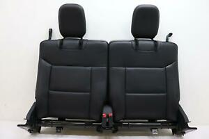 2020 2021 Ford Explorer Rear 3rd Upper Seat Cushion Black Leather Code S6 Oem
