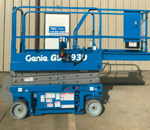 Genie Gs 1930 Scissor Lift Boom Lift Only 914 Hours New Batteries And Vcm