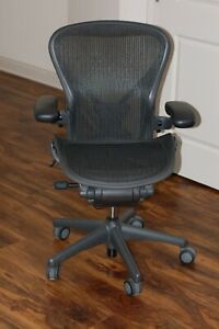 2015 Herman Miller Aeron Chair Loaded Size B Excellent Condition Posture Fit