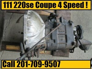 Mercedes W111 220se Coupe 4 Speed Manual Transmission Part 1112610501