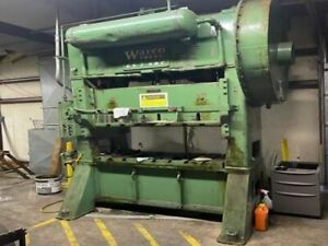 Warco 65 2 48c 65 Ton Straight Side Double Crank Press
