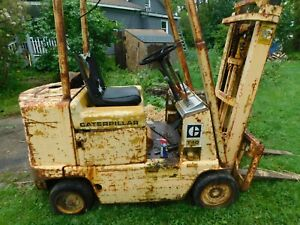 Cat T40 Towmotor forklift gas Engine