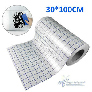 Clear Vinyl Application Tape For Car Wall Craft Art Decal Transfer Paper Tool