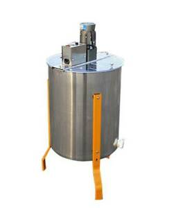 Electric 4 Frame Stainless Steel Honey Extractor Beekeeping Equipment Drum 110v
