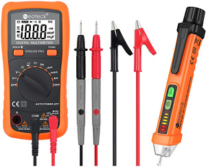 Auto ranging Digital Multimeter And Non contact Voltage Tester Pen Set Electric