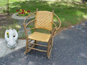 Early Old Hickory Martinsville Chair Co Rocker