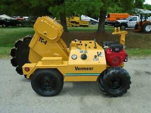 1991 Vermeer Tc4a Walk behind Trench Compactor