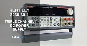 Keithley 2230 30 1 Programmable Triple Output Power Supply look ref G