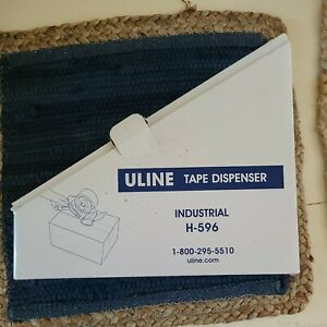 Uline 3 Inch Packing Tape Gun Dispenser Hand Grip Side Load Industrial Quality