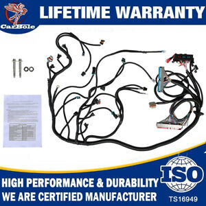 03 07 Ls3 Engine Standalone Wire Harness Drive By Wire 4l60e 4 8 5 3 6 0 Dbw New
