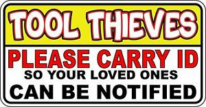 Funny Tool Box Sticker Decal Compatible With Snap On Matco Craftsman Husky