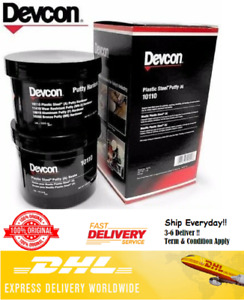 Devcon 10110 Plastic Steel Putty a 1 Lb Kit Metal Filled Epoxy fast Shipping