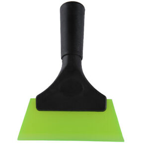 Window Tint Rubber Water Blade Squeegee Handle Green For Car Vinyl Wrap Install