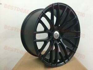 19 Staggered Satin Black A1 Style Rims For Bmw 4 Series F30 F32 F33 F35 F36