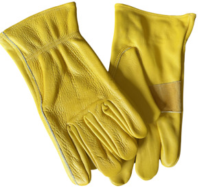 Leather Work Gloves Premium Quality All Purpose M 3x Large Sizes