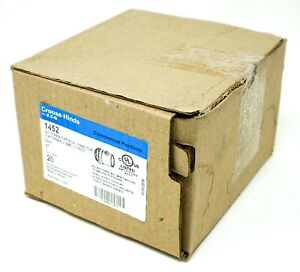 Eaton Crouse Hinds Set Screw Type Coupling 1452 1 Box Of 20
