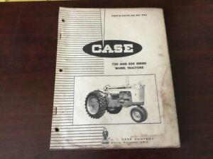 Case 730 And 830 Series Tractors Parts Catalog