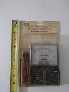 Gb All Purpose 18 Range Electrical Multitester No Gmt 18p