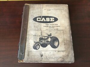 Case 730 And 830 Series Comfort King Tractors Parts Catalog