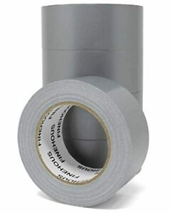 Duct Tape Multi Pack 5 Roll Heavy Duty Industrial Silver 30 Yards X 2 Inch