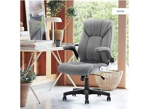 High Back Height Adjustable Executive Office Chair Leather Swivel Rolling Seat