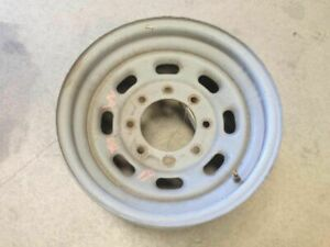99 00 01 02 03 04 Ford F250 Super Duty 16x7 Steel 8 Slot Painted Wheel Only