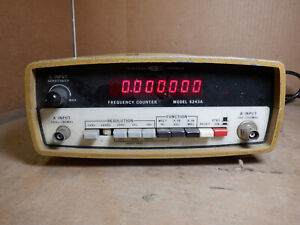 Systron Donner Model 6243a Frequency Counter