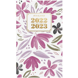 2022 2023 Pocket Calendar By At a glance 2 Year Monthly Planner 3 1 2 X 6
