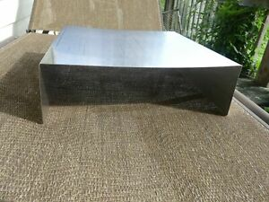 Vintage Stainless Steel Restaurant Food Truck Counter Space Shelf