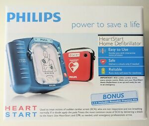 Philips Heartstart Home Aed Defibrillator Value Package New In Box