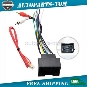 Radio Wire Harness Aftermarket Stereo Installation For Chevrolet Cruze 2011 15